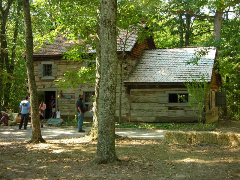 Gov. Bebb Birth Cabin
